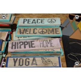 Tuinposter Tekstborden Peace Ibiza Spanje (5090.3015)