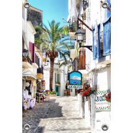 Tuinposter Ibiza Town Spanje (5090.3019)