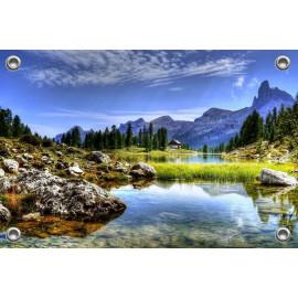 Tuinposter Dolomieten Italië (5090.3020)
