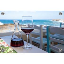Tuinposter Kreta Wijnglazen  (5090.3038)