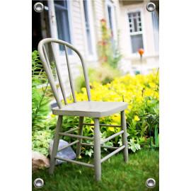 Tuinposter Vintage Stoel (5096.3003)