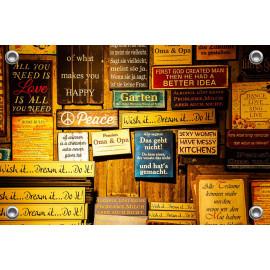 Tuinposter TekstBorden (5096.3006)