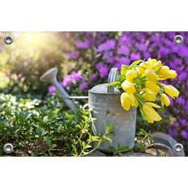 Tuinposter Gieter met Tulpen (5096.3010)