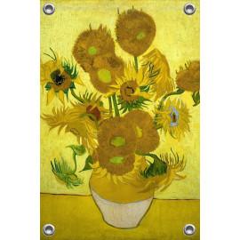 Tuinposter  Zonnebloemen Vincent van Gogh (5010.1007)