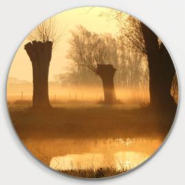Muurcirkel © Monique Milder - Gouden Zonsopkomst (6228.5509)