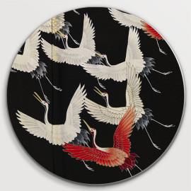 Furisode met vliegende kraanvogels (5010.2015)