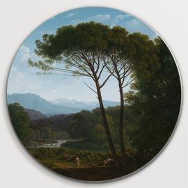 Italiaans landschap met pijnbomen (5010.2019)