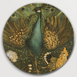 Pauw met kippen (5010.2022)